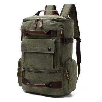 ZUO LUN DUO กระเป๋าเป้อเนกประสงค์ สไตล์ Outdoor รุ่น 8831 (สีเขียว)