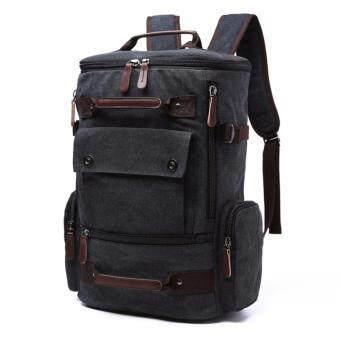 ZUO LUN DUO กระเป๋าเป้อเนกประสงค์ สไตล์ Outdoor รุ่น 8831 (สีดำ)