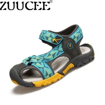 ZUUCEE Boys Fashion Casual Sandals Shoes Children Summer Comfortable Flat Shoes(moonlight) - intl