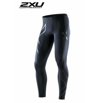 ZXU Men Compression Tights Black/Black