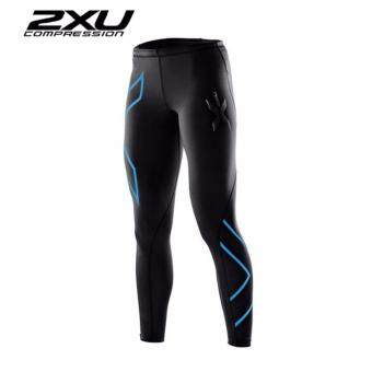ZXU Men Compression Tights Black/Blue