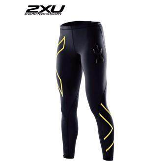 ZXU Men Compression Tights Black/Gold