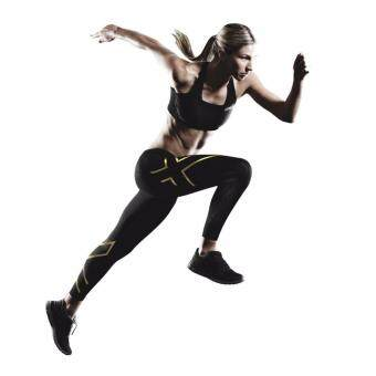 ZXU Women Compression Black/Gold