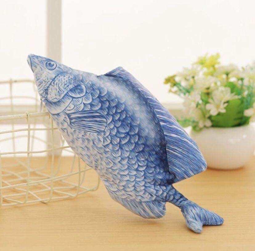 ปลาดุ๊กดิ๊กของเล่นสำหรับเด็ก ลูกแมวหรือลูกหมา DANCING FISH ปลาสวิงไฟฟ้าหรูหรา, จำลองปลาใหญ่ที่จะกระโดด