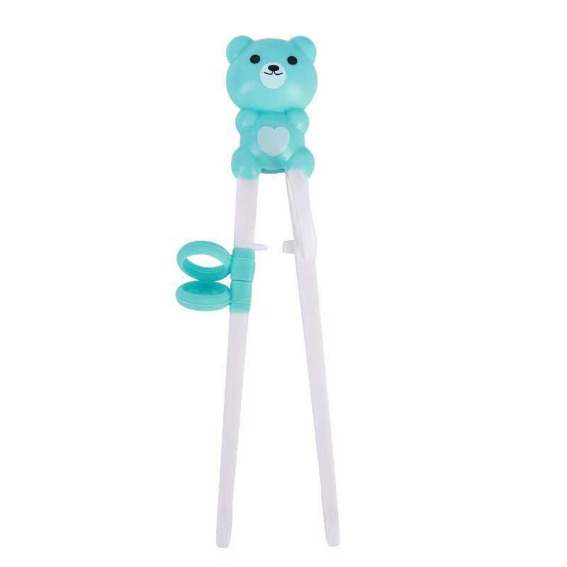ตะเกียบหัดคีบสำหรับเด็ก ตะเกียบหมี สําหรับเด็กฝึกการใช้งาน (พร้อมส่ง)