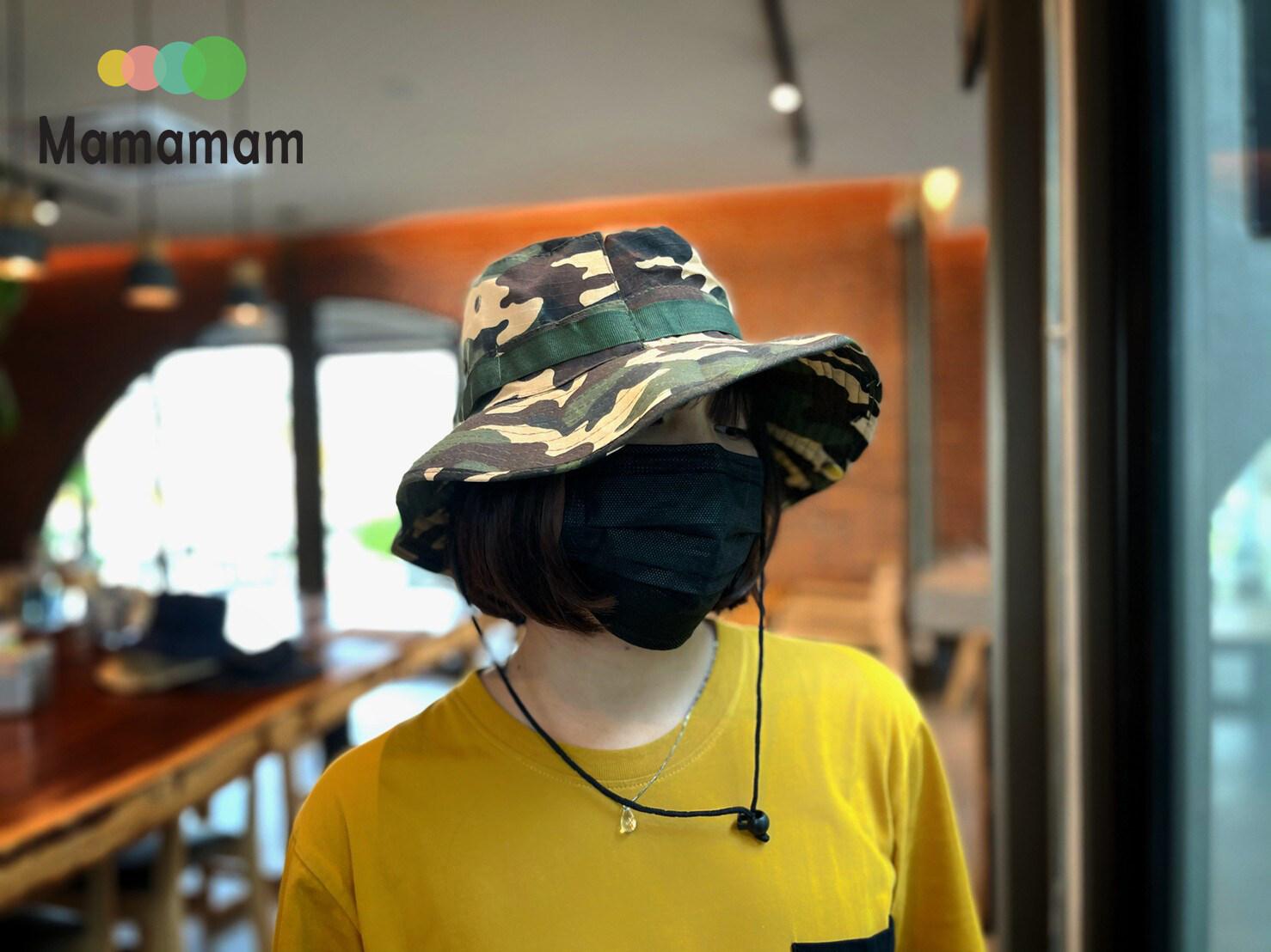 หมวก หมวกเดินป่า หมวกซาฟารี รุ่นผ้าบาง ระบายอากาศดี ใส่กันแดด สวยเท่ห์ ขนาด 56 ซม.