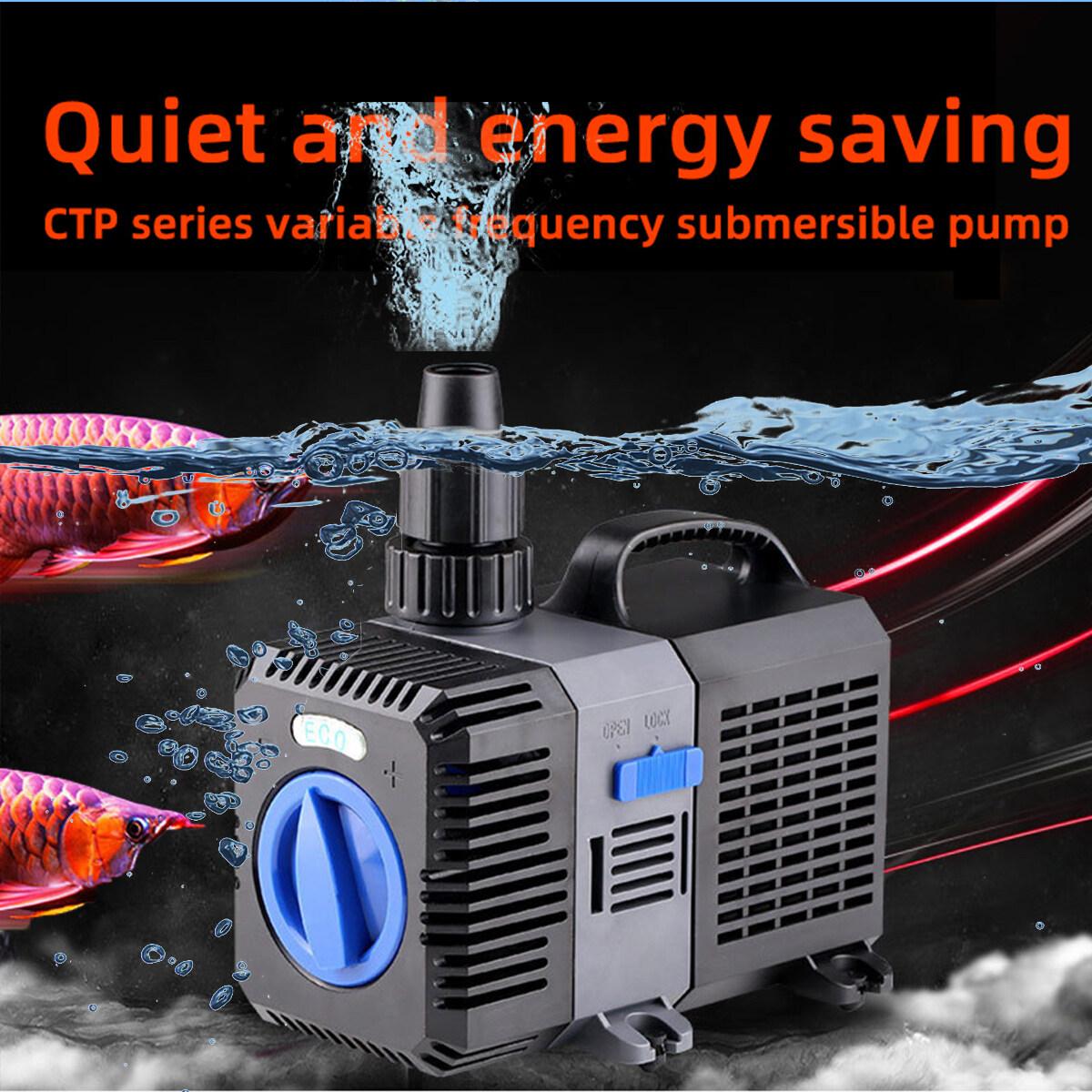 ปั้มน้ำ GRECH ประหยัดไฟ รุ่น CTP - 3800 ปั้มบ่อปลา ปั้มบ่อกุ้ง ปั้มน้ำตก ปั้มน้ำพุ อาหารปลา ปั้มลม