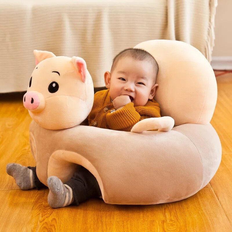 Aibaby เบาะหัดนั่งเด็ก โซฟาเด็กหัดนั่งเด็ก เบาะหัดนั่ง โซฟาหัดนั่ง เก้าอี้หัดนั่ง พร้อมยัดใยใช้งาน แข็งแรงไม่หงายหลัง พร้อมส่ง!!
