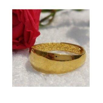 แหวนทอง หุ้มทองแท้ เครื่องประดับงานสวย 100 %