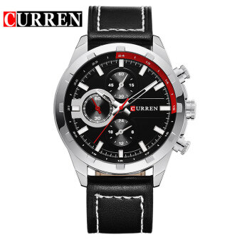 [100% Genuine]CURREN Luxury Casual Men Watches Analog Military Sports Watch Quartz Male Wristwatches 8216
