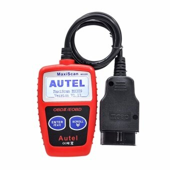 100% Original Autel Maxiscan Ms309 OBD2 Obdii Scanner Code Reader Car Ms 309 Diagnostic Tool - intl