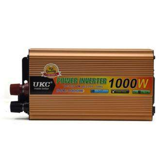 1000W DC 24V To AC 220V Pure Sine Wave Car Power Inverter WithUniversal Power Socket - intl