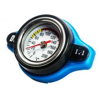ฝาหม้อน้ำ วัดอุณหภูมิน้ำ ทนแรงดัน 1.1 บาร์ (ใช้แทนฝาหม้อน้ำเดิมที่เป็นจุกใหญ่ตามรูปภาพ) 84-racing
