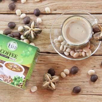 กาแฟถั่วดาวอินคา รสกลมกล่อม กล่องบรรจุ 12 ซอง 6 กล่อง UMB SachaInchi Coffee Mix (image 1)