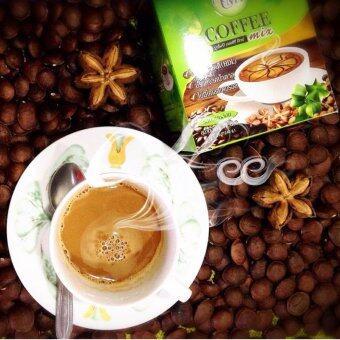 กาแฟถั่วดาวอินคา รสกลมกล่อม กล่องบรรจุ 12 ซอง 6 กล่อง UMB SachaInchi Coffee Mix (image 2)
