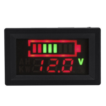 12V 24V 36V Acid Lead Battery Capacity Indicator Voltage MeterDisplay LED