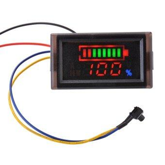 12V 24V Acid Lead Battery Voltage Dual LED Display Pannel MeterVoltmeter MA927