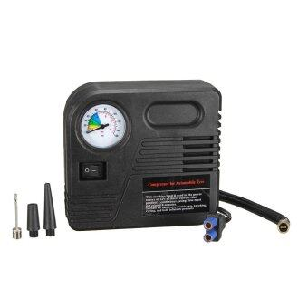 12V Mini Portable Car Auto Electric Pump Air Compressor TireInflator - intl