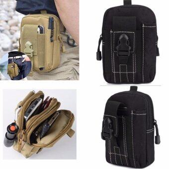 199shop Men's Outdoor Camping Bag Hiking Pouch Military Army WaistPack with Belt Loop