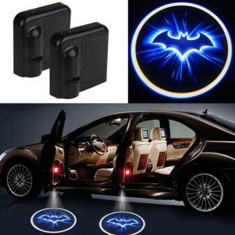 Harga 2 PCS. LED Car Doors Welcome Light Laser Projector Logo Batman Light Shadow Car Interior Vehicle Styling Light for Most Cars