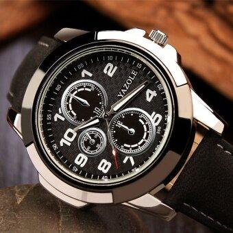 2016 YAZOLE Sport Watch นาฬิกาข้อมือ Men Watch นาฬิกาข้อมือ es Top Brand Luxury Famous Male Clock Quartz Watch นาฬิกาข้อมือ Wrist leather Quartz-Watch นาฬิกาข้อมือ 350