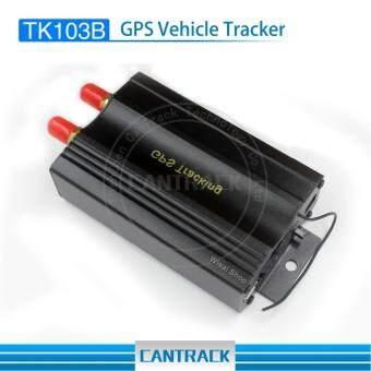 2018 Cantrack อุปกรณ์ติดตามรถยนต์ GPS Tracker TK103B แถม Web Platform เพื่อดูพิกัดแบบ Real Time ฟรีตลอดอายุการใช้งาน