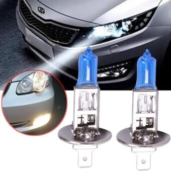ซื้อ 2017 H1 12V 55W Super White Halogen Bulb LIGHT XENON Halogen For Universal Car - intl