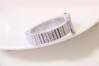 2017 New Hot Selling Women Diamond Brecelet Watch Women Dress Quartz Woman Watches Brand Luxury - intl - 2