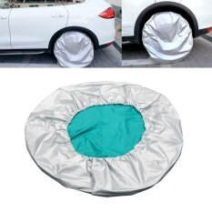 "27""-29"" Car Spare Tyre Cover Tire Protector Waterproof Adjustable - intl"
