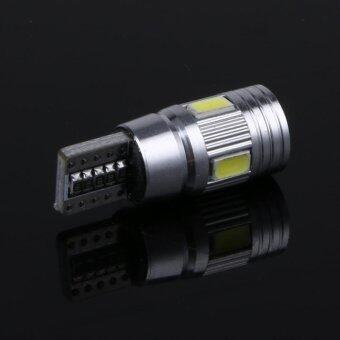 2pcs Car Lights Canbus T10 5630 6SMD Decoding W5W Show Wide Lights- intl รูบที่ 4