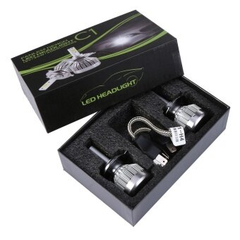 2x H4 LED Light Headlight Vehicle Car Hi/Lo Beam Bulb Kit 6000k 60W6000LM White - intl