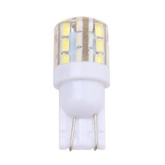 2x Xenon White 24-SMD T10 168 194 2825 LED Bulbs For Car LicensePlate Light (Intl) - intl