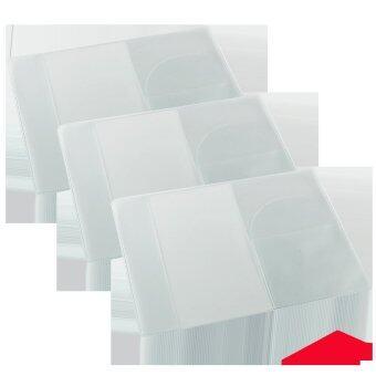 ซองพลาสติกกันน้ำสำหรับใส่พาสปอร์ต หนังสือเดินทางแบบใส 3 ชิ้น