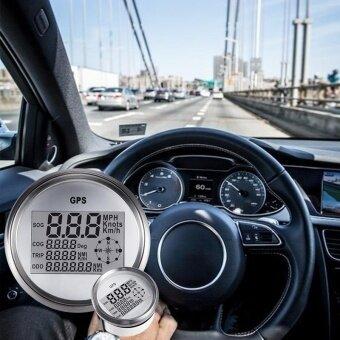 3-3/8 ''GPS Speedometer Gauge Digital + ความเร็วสูงเรียกคืน