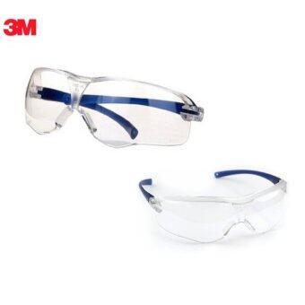 3M แว่นตานิรภัยรุ่น Virtua Sport Asian Fit เลนส์โพลีคาร์โบเนต กันฝ้า กันกระแทก ชุดคู่ 2 ชิ้น (สีเทา)
