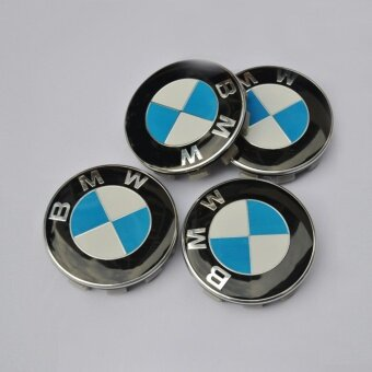 4pcs diameter 68mm BMW logo emblem Wheel Center Hub Caps Dust-proof Badge logo covers car styling Auto accessories - intl