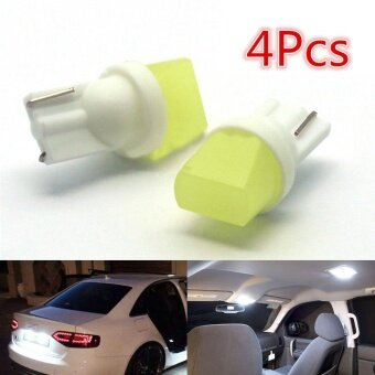 4pcs T10 3D LED W5W 100Lm White Lights Car Side Direction IndicatorLicense Plate Door Map Festoon Dome Lamp Bulbs DC 12V - intl