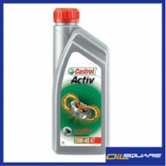 ซื้อ คาสตรอล แอคทีฟ 4T Castrol Activ 4T SAE20W-40 ขนาด 1ลิตร