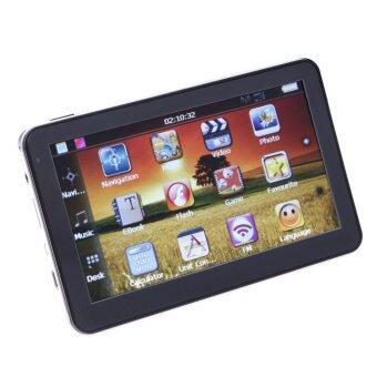 5 / Inch Car GPS Navigation Sat Nav 4GB FM Transmitter BundleAustralia - intl
