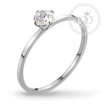 Harga 555jewelry ������������������������������������ CZ Tiny Ring ������������ MNC-R514-A (Steel)