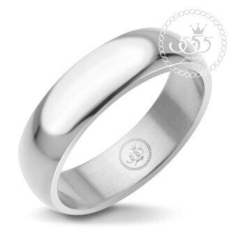 555jewelry แหวน รุ่น MNC-R161-A (Steel)