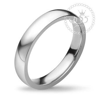 555jewelry Stainless Steel 316L Ring แหวน รุ่น FSR116-A (Steel)