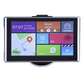 7/ Android GPS CPU Quad Core Bluetooth Car Truck Navigator(Europe) - intl