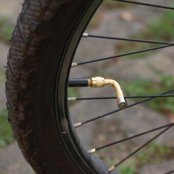 รถจักรยานยนต์รถ 90องศาดัดก้านวาล์วทองเหลืองล้อรถส่วนโกลเด้น