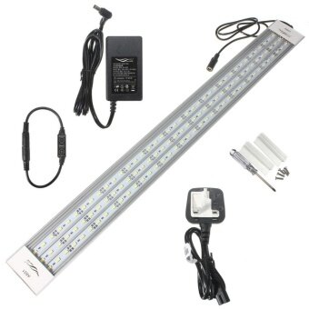 A601 Aquatic Aquarium 5730 LED Light Lamp Chihiros A-Series 39W 60cm 117SMD 5800LM Pure White UK Plug - intl