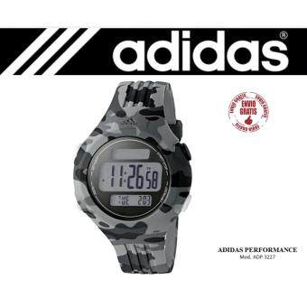 Adidas Performance Questra Grey Camo Silicone Chronograph Watch ADP3227