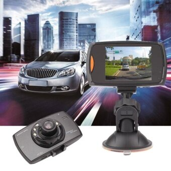 ADS Professional Accessories Camera H300 1080P Vehicle Car Driving Night Vision Recorder Camera DVR w/Lamp - intl