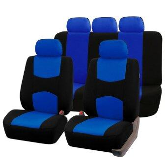 Allwin Front Rear Universal Car Seat Covers Auto Car Seat CoversVehicles Accessories - intl