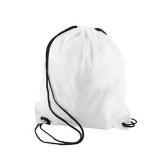 Allwin Premium School Drawstring Duffle Bag Sport Gym Swim Dance Shoe Backpack White - 3
