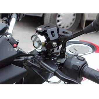 ALLY ไฟตัดหมอก LED 125 3000LM สำหรับรถจักรยานยนต์ ไฟตัดหมอก มอเตอร์ไซต์ ATV ออฟโรด U5 จำนวน 1ชิ้น (ขอบสีดำ) - แถมฟรี!! Switch On/Off Motorcycle 1 ชิ้น มูลค่า 200 บาท - 2